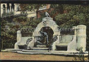 Leipzig Maerchenbrunnen am Thomasring  Kat. Leipzig