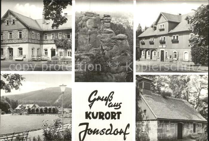 Jonsdorf Ho Gaststaette Nonnenfelsen Kurplatz Kat. Kurort Jonsdorf