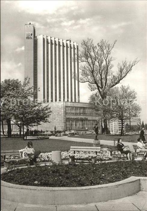 Karl Marx Stadt Stadthalle Interhotel Kongress Kat. Chemnitz