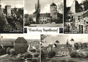 Kapellendorf Gefaengnisturm Klosterkirche Mittelalterliche Kueche Wasserburg Kat. Kapellendorf