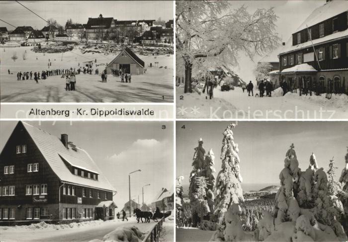 Altenberg Dippoldiswalde HO Hotel Stadt Dresden Kahleberg Skilift Kat. Altenberg
