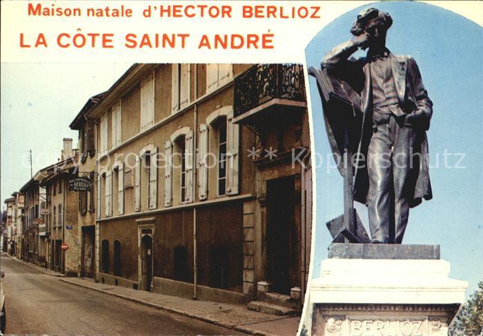 La Cote Saint Andre Maison natale d Hector Berlioz Kat. La Cote Saint Andre