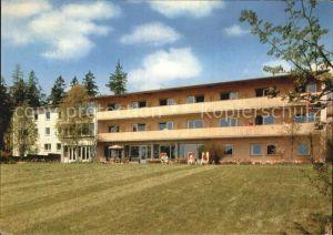Bad Steben Haus Sankt Hedwig Muettergenesungsheim Kat. Bad Steben
