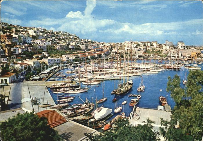 Piraeus Hafenansicht Kat. Piraeus