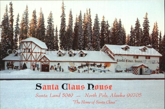 North Pole Santa Clause House Kat. North Pole