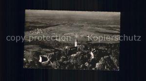 Kirchheim Teck Burg Teck Fliegeraufnahme Kat. Kirchheim unter Teck