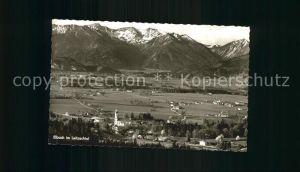 Elbach Miesbach im Leitzachtal Panorama Kat. Fischbachau