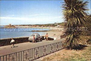 Guernsey Channel Islands Rocquaine Bay / Guernsey /