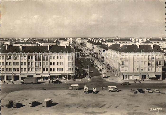 Saint Nazaire Loire Atlantique Place de Hotel de Ville Avenue Republique  Kat. Saint Nazaire