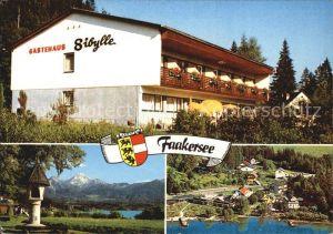 Faakersee Gaestehaus Sibylle Kat. Villach