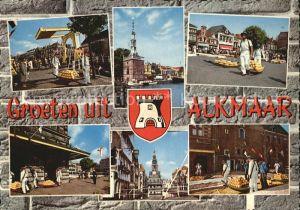 Alkmaar Teilansichten Hafen  Kat. Alkmaar