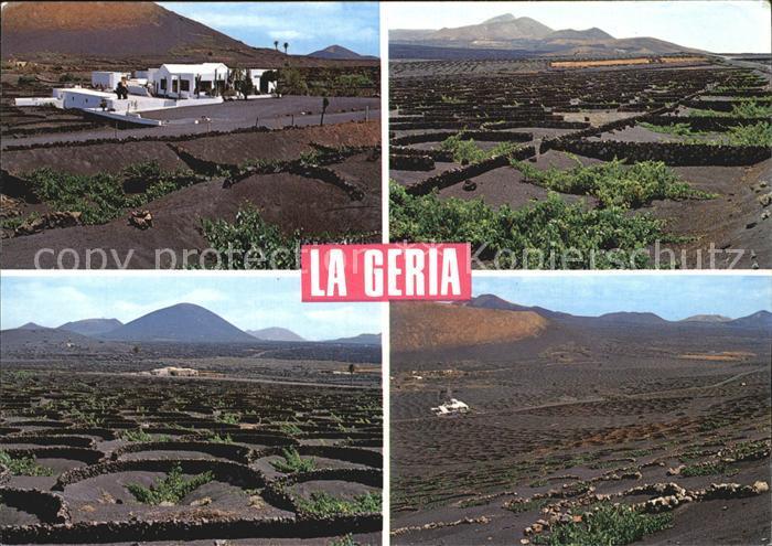 Lanzarote Kanarische Inseln La Geria