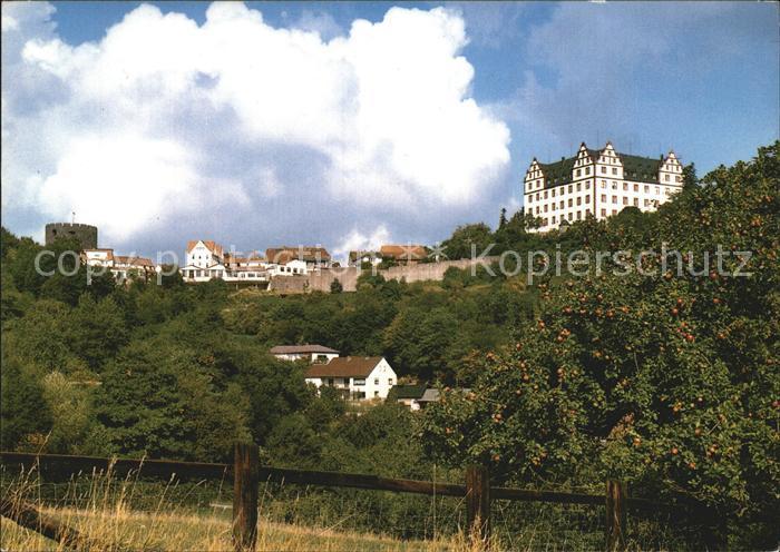 Lichtenberg Odenwald mit Schloss Lichtenberg Kat. Fischbachtal