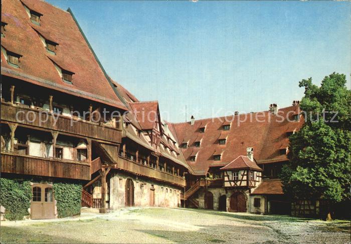 Bamberg in der alten Hofhaltung Kat. Bamberg