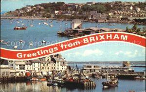 Brixham Harbour Hafen Kat. United Kingdom