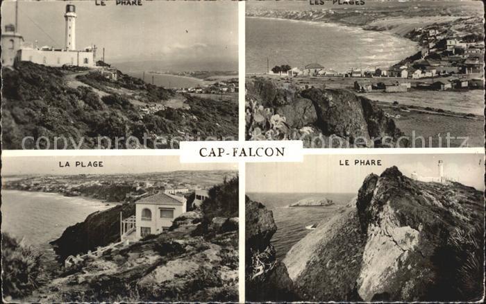 Algerien Cap Falcon le Phare la plage  Kat. Algerien