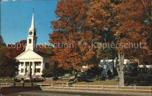 New England Kirche Kat. New England