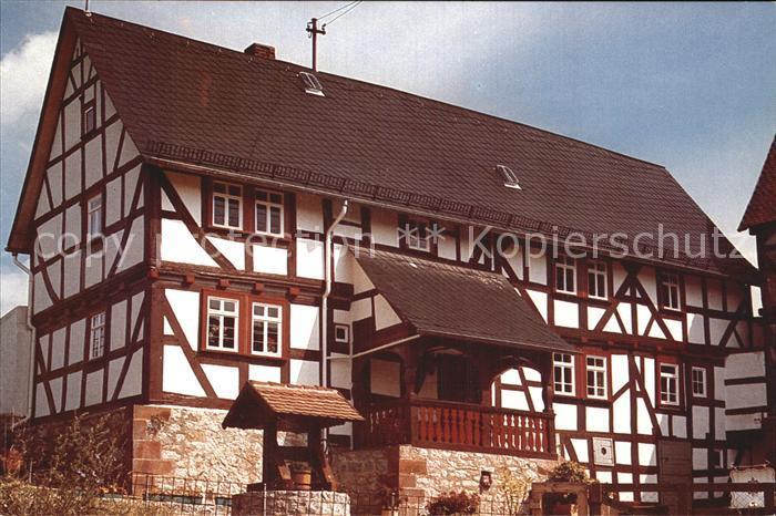 Biebertal Hof Haina Stammhaus der Familie Schneider Kat. Biebertal