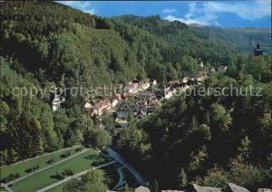 Bad Berneck Fliegeraufnahme im Fichtelgebirge Kat. Bad Berneck Fichtelgebirge