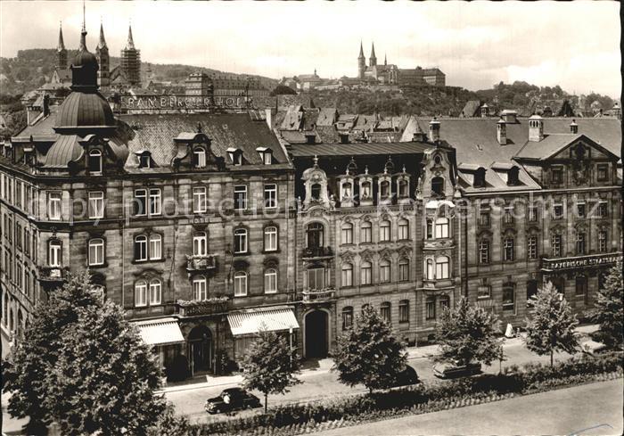 Bamberg Hotel Bamberger Hof  Kat. Bamberg