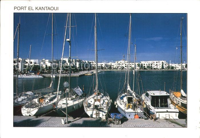 Sousse Port El Kantaoui Segelschiffe Kat. Tunesien