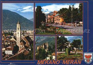Merano Suedtirol Casino Castel Fontana Passeggiata Kat. Merano