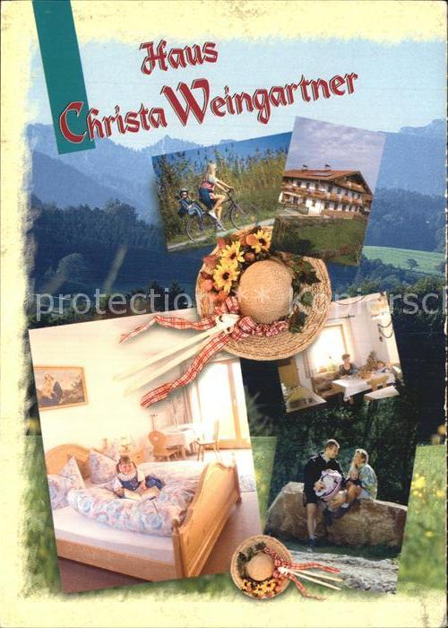 Bernau Chiemsee Haus Christa Weingartner Kat. Bernau a.Chiemsee