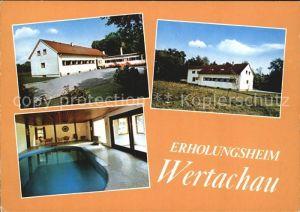 Pforzen Erholungsheim Wertachau Kat. Pforzen