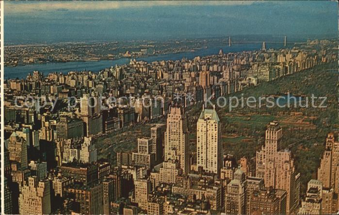 New York City Seen from the Empire State Building
