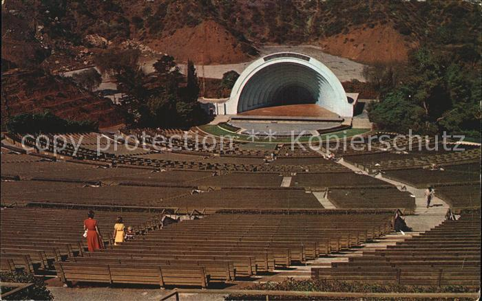 Hollywood California Bowl largest natural amphitheatre in the world Kat. Los Angeles United States