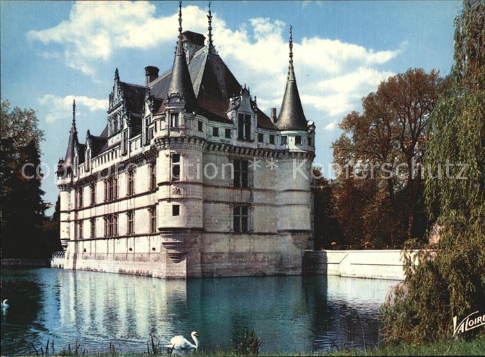 Azay le Rideau Chateau Kat. Azay le Rideau Nr. kt20805 - oldthing ...