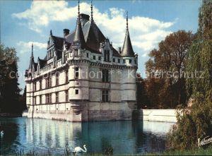 Azay le Rideau Chateau Kat. Azay le Rideau