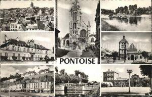 Pontoise  Val d Oise Stadtansichten Kat. Pontoise