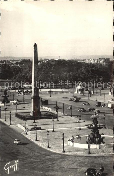 Paris Place de la Concorde Kat. Paris