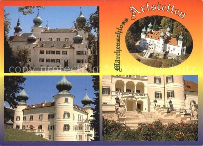 Artstetten-Poebring Schloss Artstetten Fliegeraufnahme Schlosshotel Wachau / Artstetten-Poebring /Mostviertel-Eisenwurzen