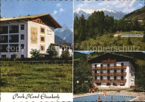 Zell See Parkhotel Elisabeth Freibad Kat. Zell am See