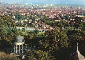 Wiesbaden Blick vom Neroberg Kat. Wiesbaden