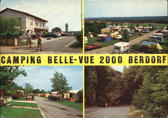 Berdorf Echternach Camping Belle Vue 2000 Kat. Luxemburg