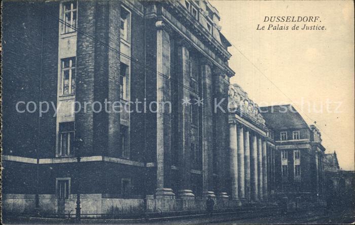 Duesseldorf Justiz Palast Kat. Duesseldorf