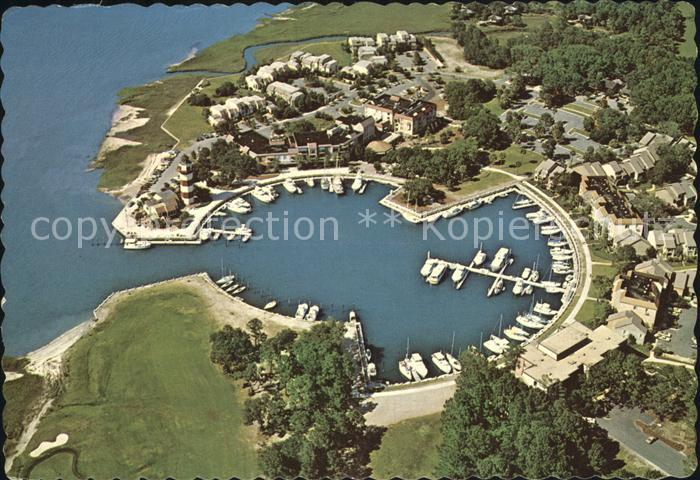Hilton Head Island Harbour Town  Fliegeraufnahme Kat. Hilton Head Island