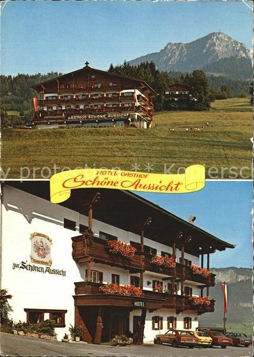 St Johann Tirol Hotel Gasthof Schoene Aussicht Kat St Johann In