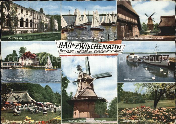 Bad Zwischenahn Kurhaus Faehrhaus Muehle Anleger Kat. Bad Zwischenahn