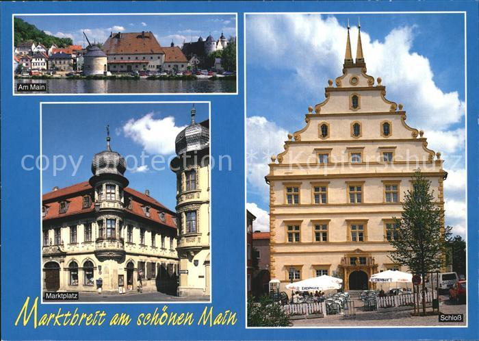 Marktbreit Schloss Marktplatz  Kat. Marktbreit