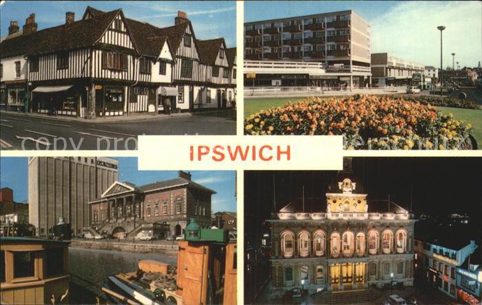 Ipswich Teilansichten Gebaeude Kat. Ipswich