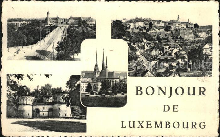 Luxembourg Luxemburg Teilansichten der Stadt Kat. Luxembourg