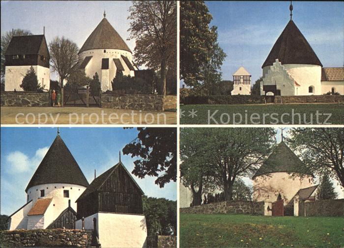 Bornholm Osterlars Rundkirke Ny Kirke Ols Kirke Ny Lars Kirke Kat. Daenemark