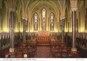 Dublin Ireland The Lady Chapel St Patricks Cathedral Kat. United Kingdom