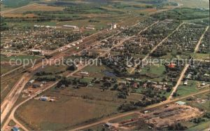 Virden Manitoba The Oil Capital of Manitoba aerial view