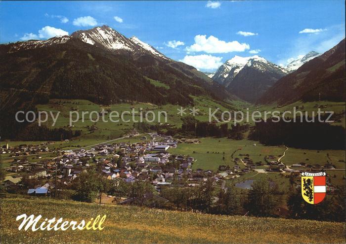 Mittersill Oberpinzgau Panorama Kat. Mittersill