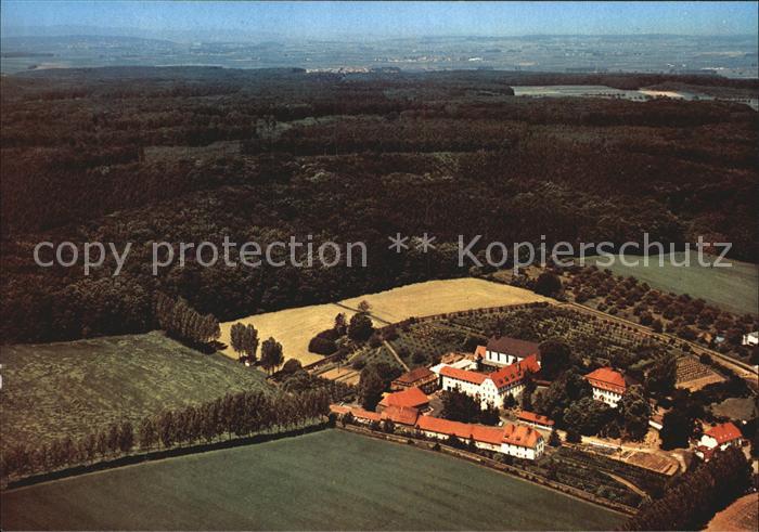Altenstadt Hessen Kloster Engelthal Fliegeraufnahme Kat. Altenstadt